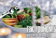 Рецепт Итальянский салат с грушей и пармезаном