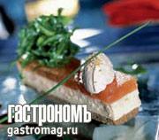 Рецепт Заливное из стерляди на ржаном бисквите
