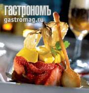 Рецепт Тартар из клубники с имбирной панакоттой