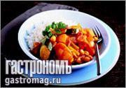 Рецепт Пряные овощи с нутом