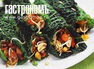 Рецепт Рулеты из овощей и савойской капусты
