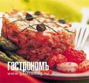 Рецепт Тартар из лосося со спаржей