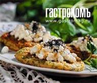 Рецепт Блины с пряными травами, творогом и кедровыми орешками