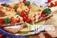 Рецепт Хлебцы с омлетом