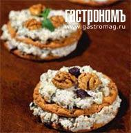 Рецепт Хлебцы с сыром и орехами