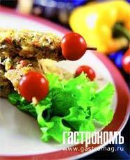 Рецепт Люля из курицы с овощами и пряными травами