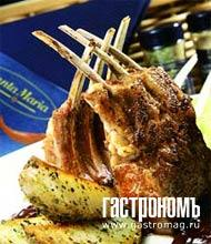 Рецепт Корейка ягненка с соусом из чернослива