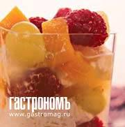 Рецепт Рисовый пудинг с фруктами и лесными ягодами