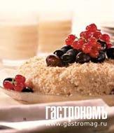 Рецепт Кокосовый рис с виноградом и красной смородиной