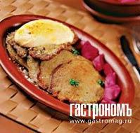 Рецепт Драники, запеченные со свининой