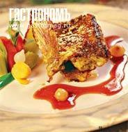 Рецепт Морской петух с соусом из луковой карамели, жаренный с прованскими травами