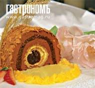 Рецепт Шоколадно-фисташковая роллада