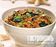 Рецепт Греческий салат из маслин и чечевицы