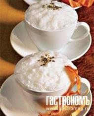 Рецепт Суп-капучино из белой фасоли