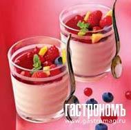 Рецепт Белый шоколадный мусс