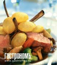 Рецепт Баранина на косточке с воздушным картофелем