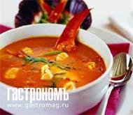 Рецепт Суп из омара с клецками