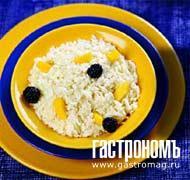 Рецепт Кокосовый рис с манго и ежевикой