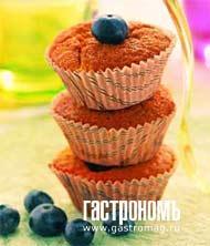 Рецепт Классические черничные кексы