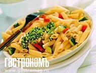 Рецепт Макароны с песто из шпината