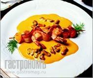 Рецепт Парадизо – шашлычки из морепродуктов