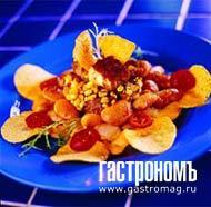 """Рецепт Свинина """"Карнитас"""" с гигантской печеной фасолью"""
