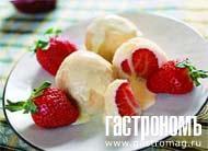 Рецепт Кнедлики с клубникой и гуслянкой