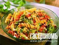 Рецепт Дижонский салат из трехцветной пасты