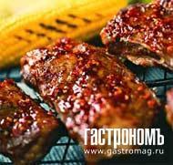 Рецепт Ребрышки-барбекю