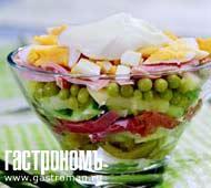 Рецепт Праздничный картофельный салат