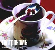 Рецепт Горячий клюквенный чай