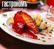 Рецепт Форель на гриле с соусом из свежей паприки