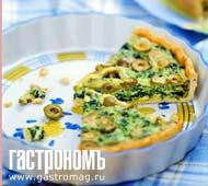 Рецепт Зеленый киш