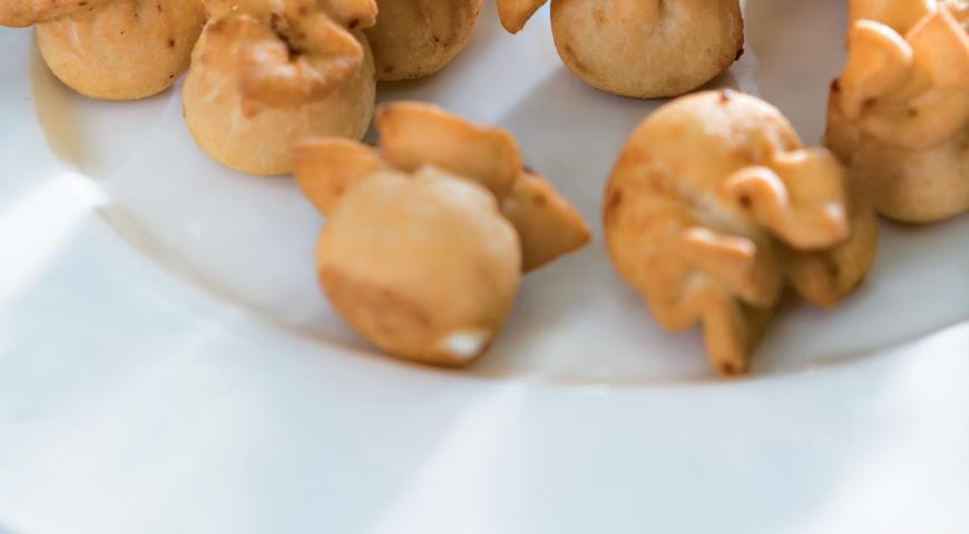 Рецепт Фьоччи ди пере (паста с грушами и сыром)