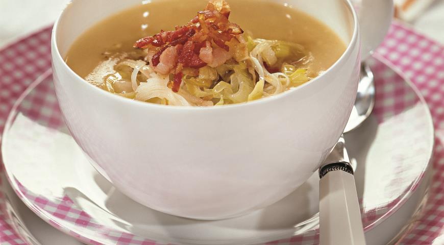 Рецепт Суп из лука-порея с картофелем