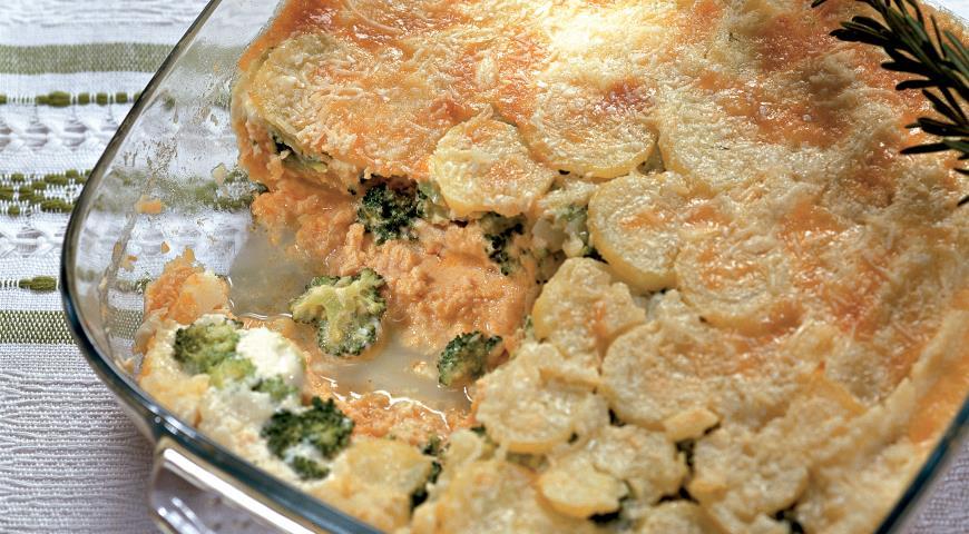 Рецепт Мусс из лосося с картофелем