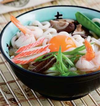 Рецепт Удон с морепродуктами