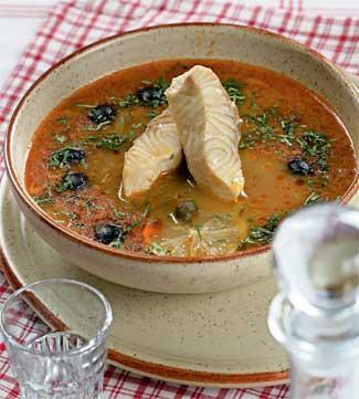Рецепт Рыбная солянка