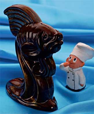 Рецепт Объемные шоколадные фигурки