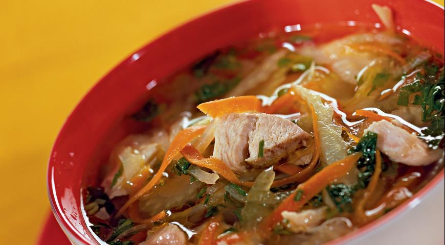 Рецепт Куриный суп с сельдереем