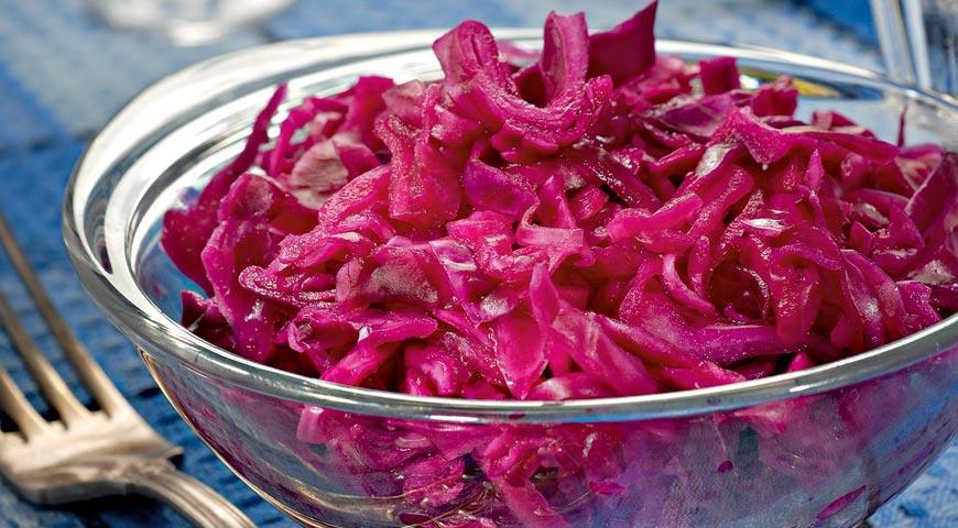 маринад для красной капусты