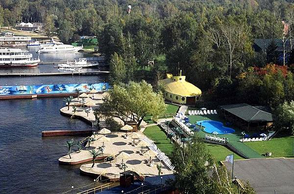 Стоимость аренды, фото и описание ресторана the river cafe