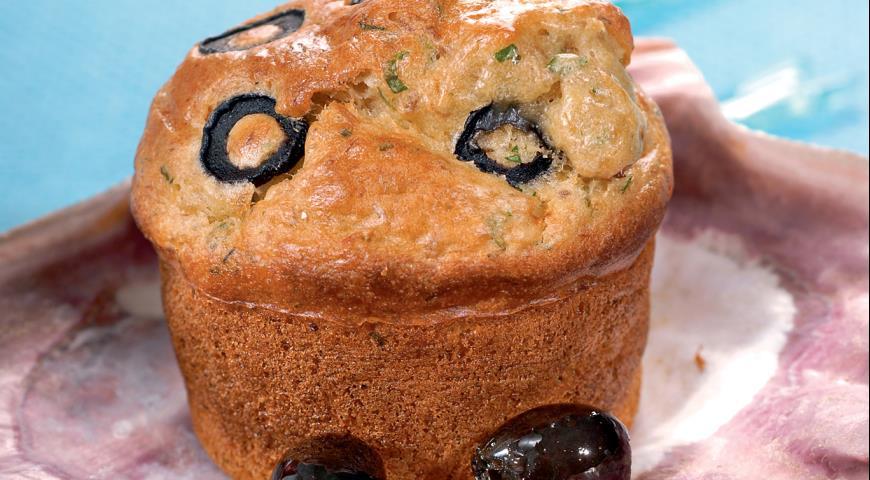 Рецепт Кекс с тунцом