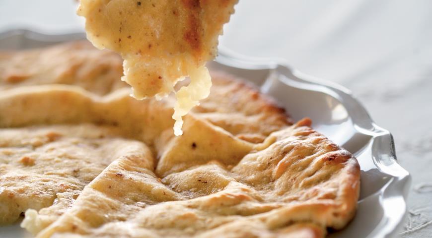 Рецепт Фокачча с оливками и сыром