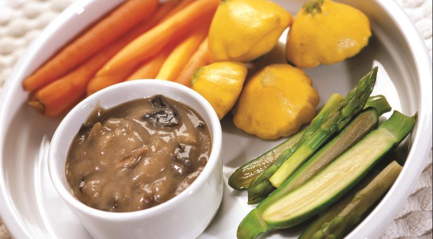 Рецепт Грибной соус к овощам и мясу