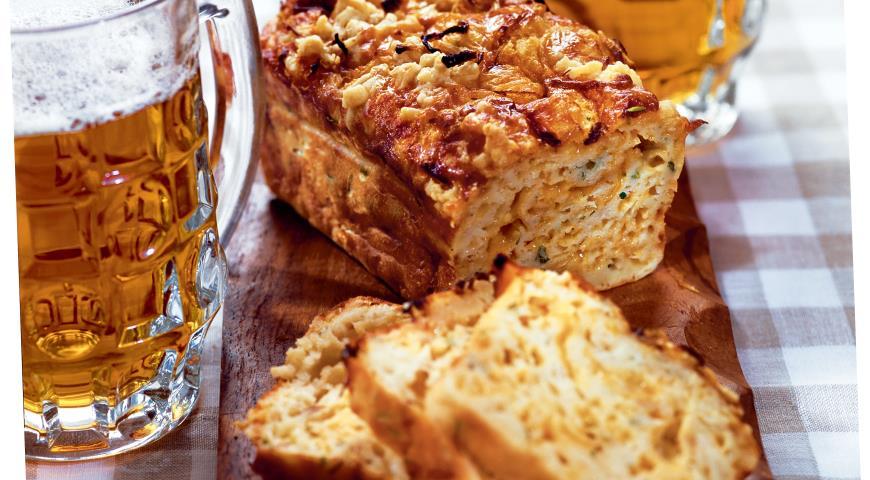 Рецепт Луковый кекс с сыром