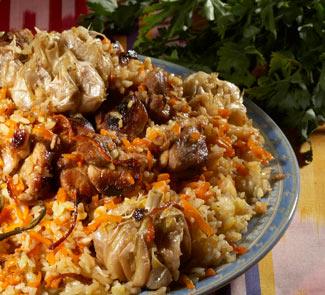 Рецепт Плов по-узбекски