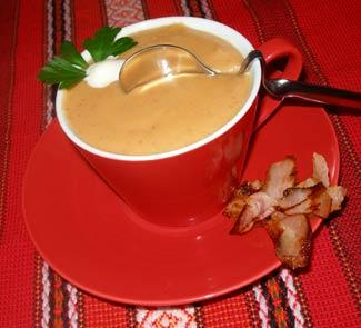 Рецепт Овощной крем-суп «Бодрое утро»