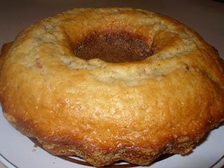 Рецепт «Кекс-пекс» с лимоном и орехами