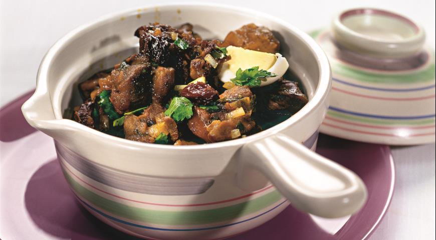Рецепт Баранина с медом и черносливом